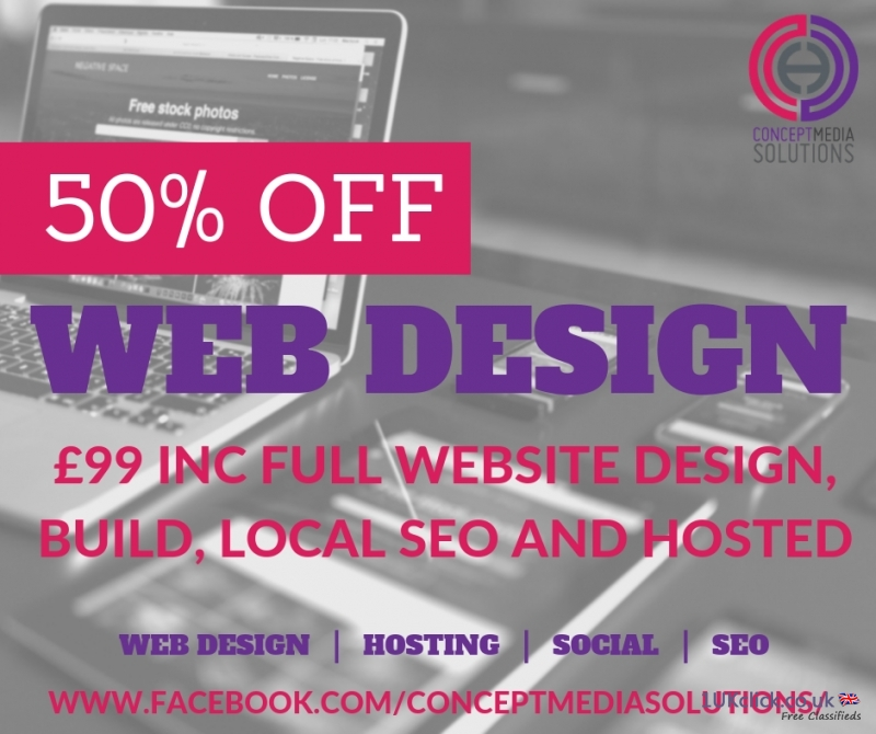 Web Design Special Offer