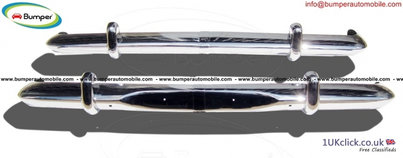 Opel Rekord P2 bumper (1960-1963) by stainless ste
