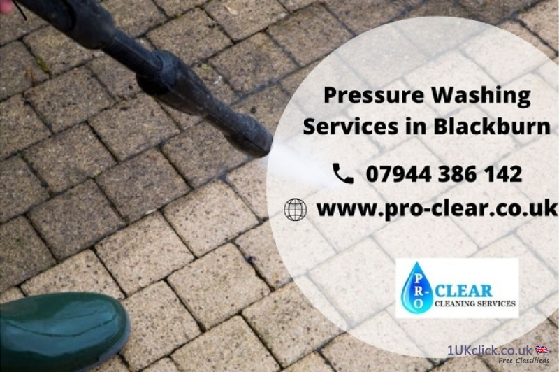 Pressure Washing Services in Blackburn