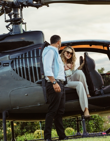 HELICOPTER CHARTER FOR BUSINESS