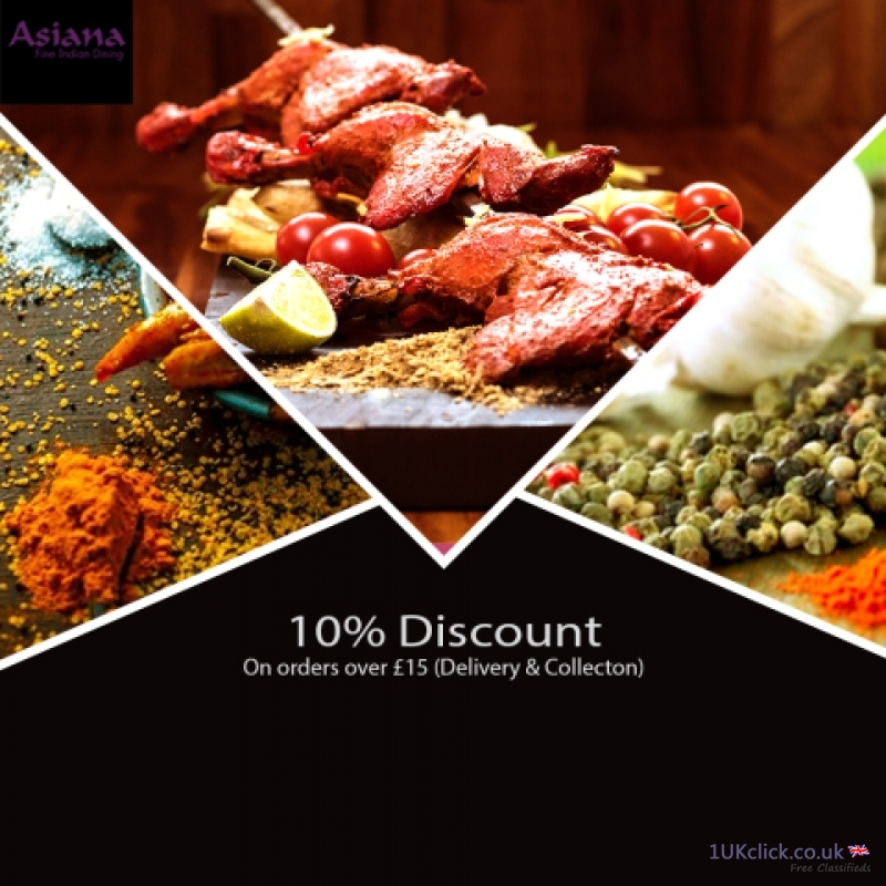 10% Discount Indian Restaurant Near Southend-on-se